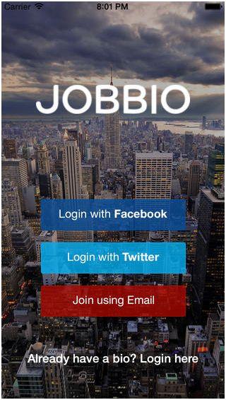 Jobbio app
