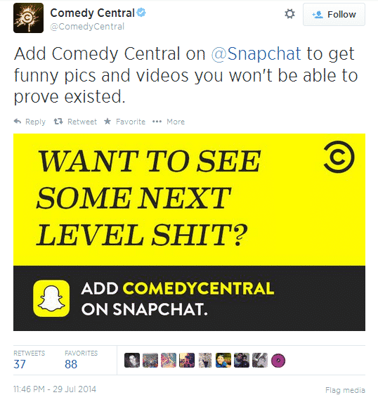 Comedy central snap 2