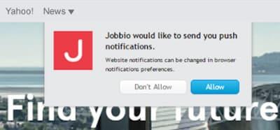 Jobbio-Optin