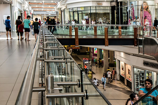 beacons shopping mall