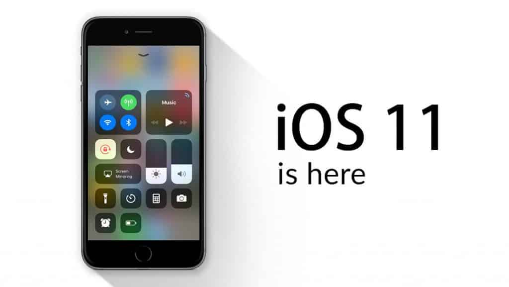 iOS 11 is here