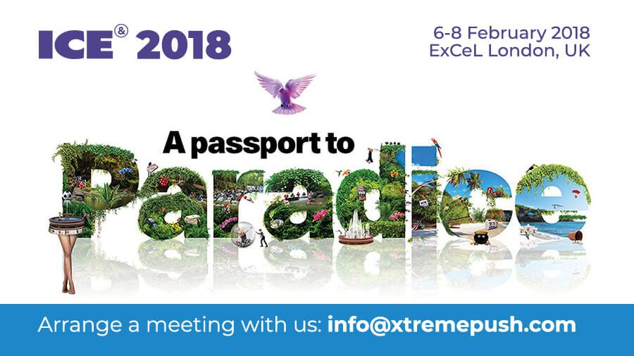 Meet Xtremepush at ICE Totally Gaming 2018