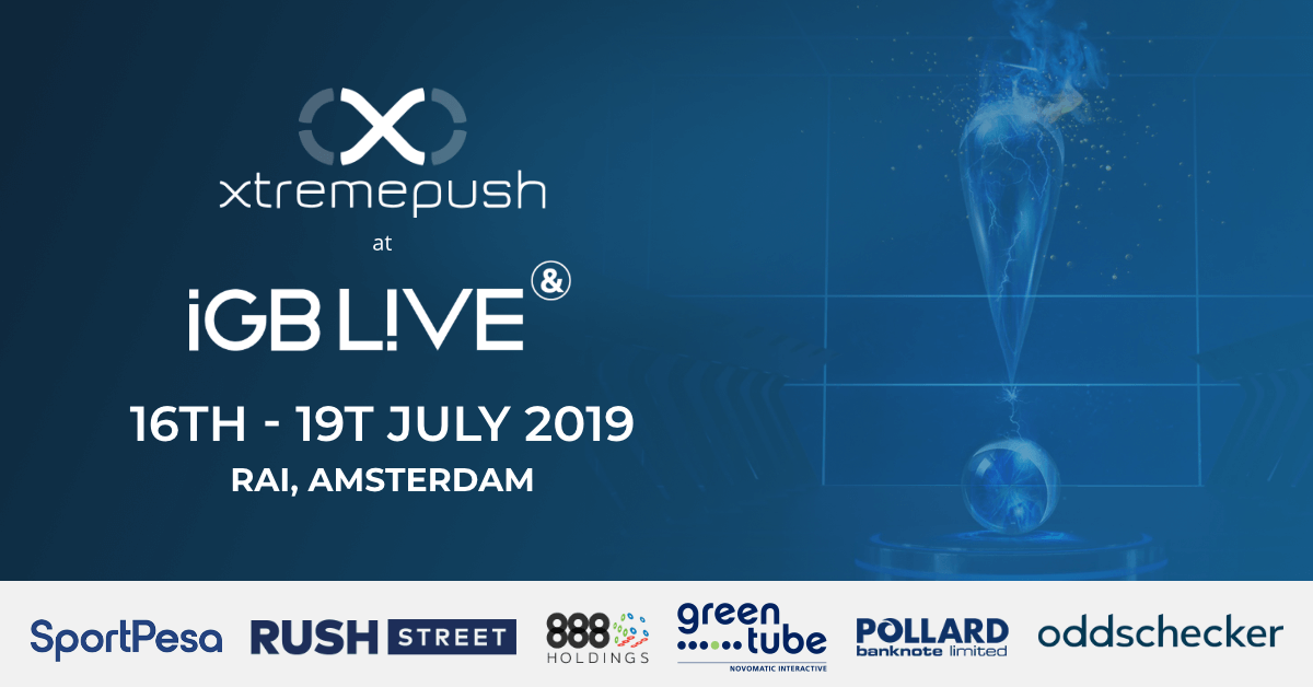Xtremepush iGB LIVE