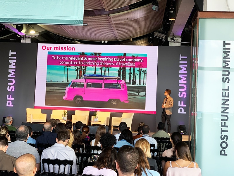 Lastminute.com presentation at Post Funnel Summit 2019