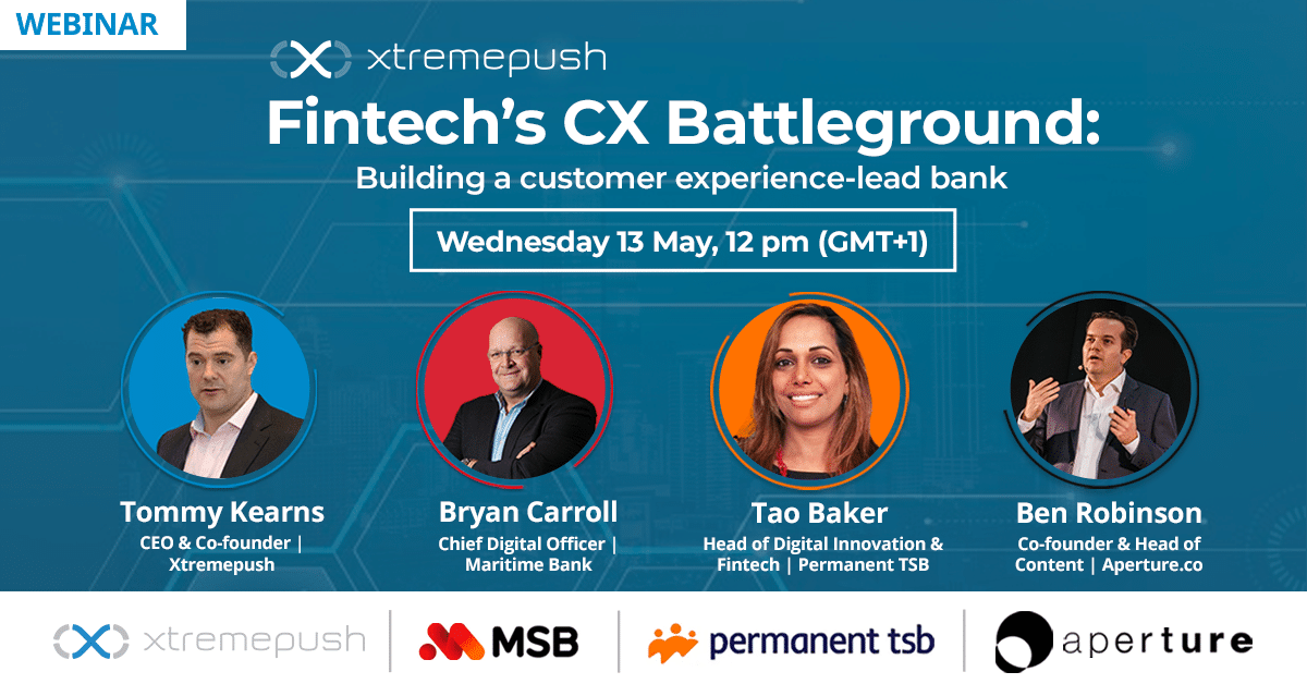 Xtremepush Fintech Panel Discussion