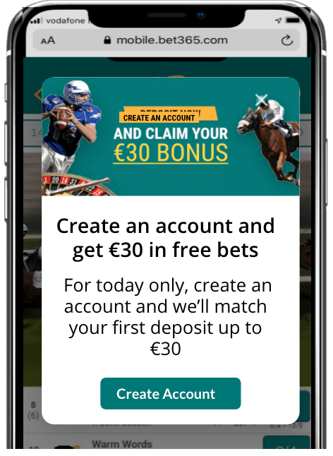 Using on-site messages to encourage account creation