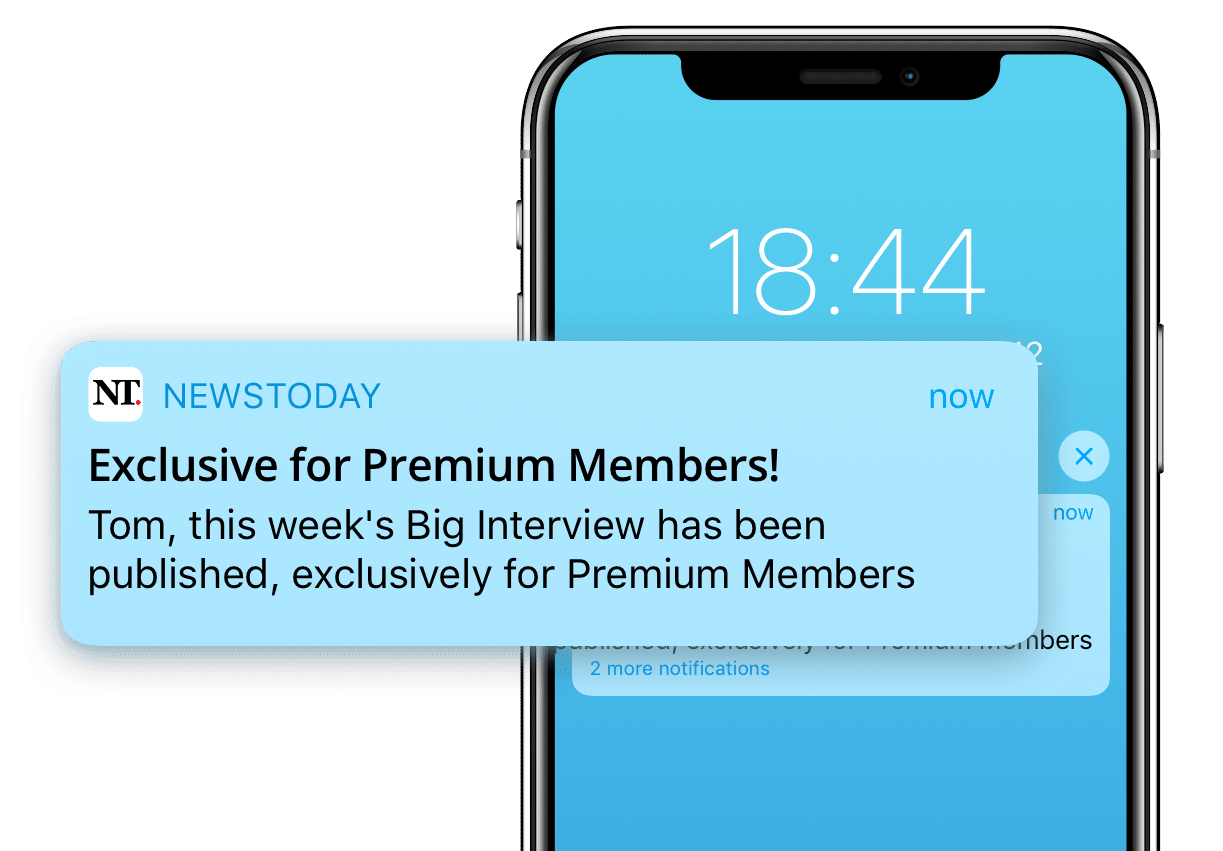 Example of a push notification used as part of a growth marketing campaign
