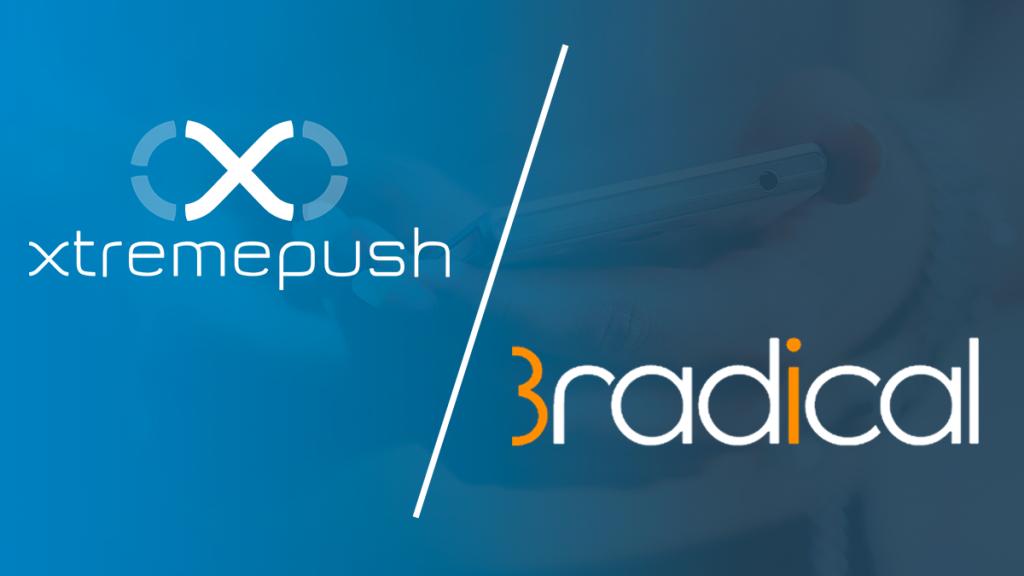 Xtremepush announce partnership with 3radical